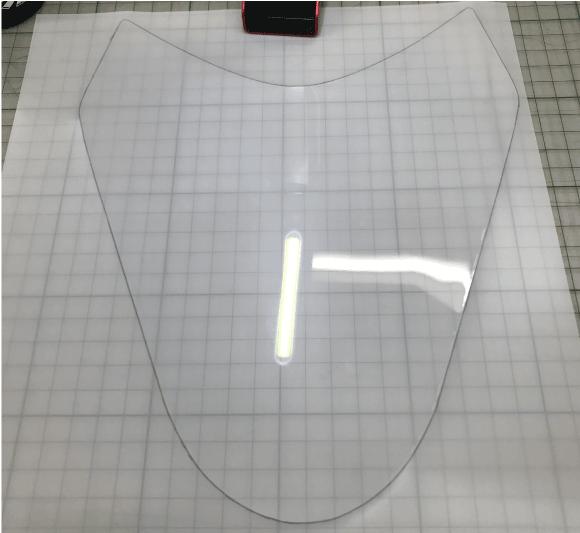 新型HAYABUSA用ヘッドライトPPFキット
